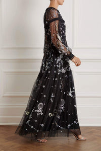 Delphine Sequin Gown