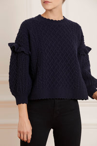 Elsie Cable Short Jumper