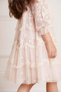 Marigold Rose Kids Dress - Pink