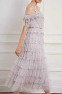 Neve Ruffle Ballerina Dress