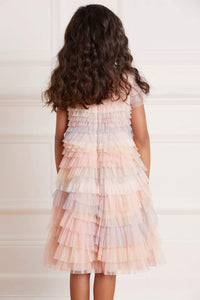 Petra Ruffle Kids Dress