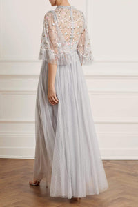 Regency Garden Bodice Maxi Dress