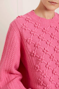 Rose Bobble Stitch Jumper