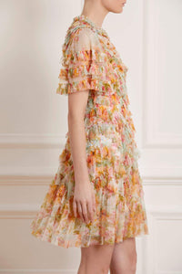 Sunset Garden Mini Dress