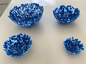 Bead Bowls - St Georges Blue