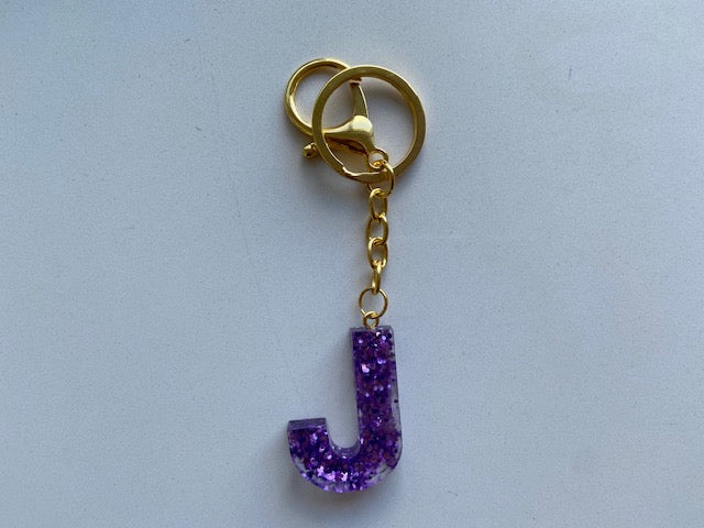 Resin Letters - Key Chains