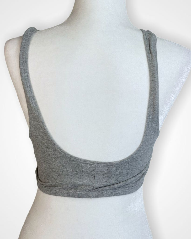 Gray Out From Under by UO bralette, M