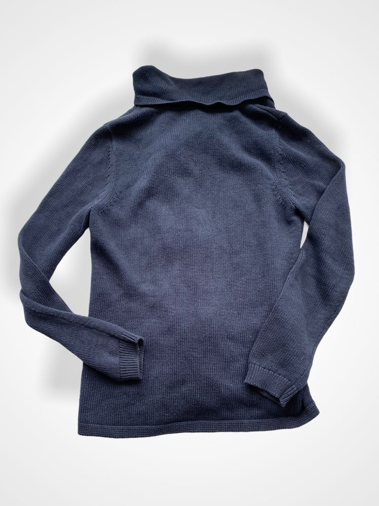 Navy Gap Sweater, M