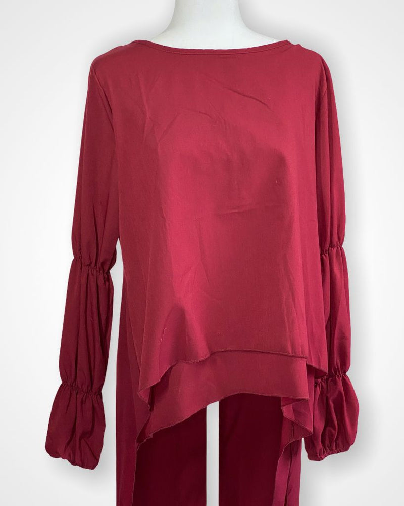 Red  Long Sleeve, M