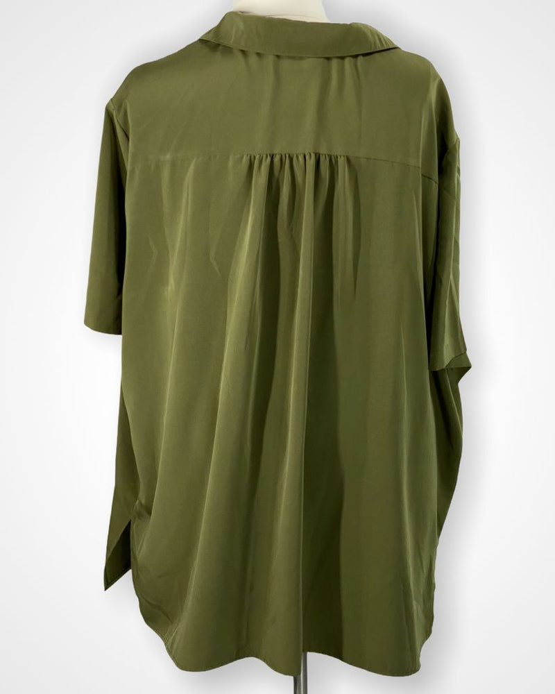 Green A Personal Touch Short sleeve, 6X