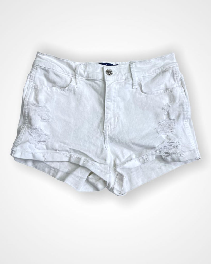 White Hollister Shorts, 7