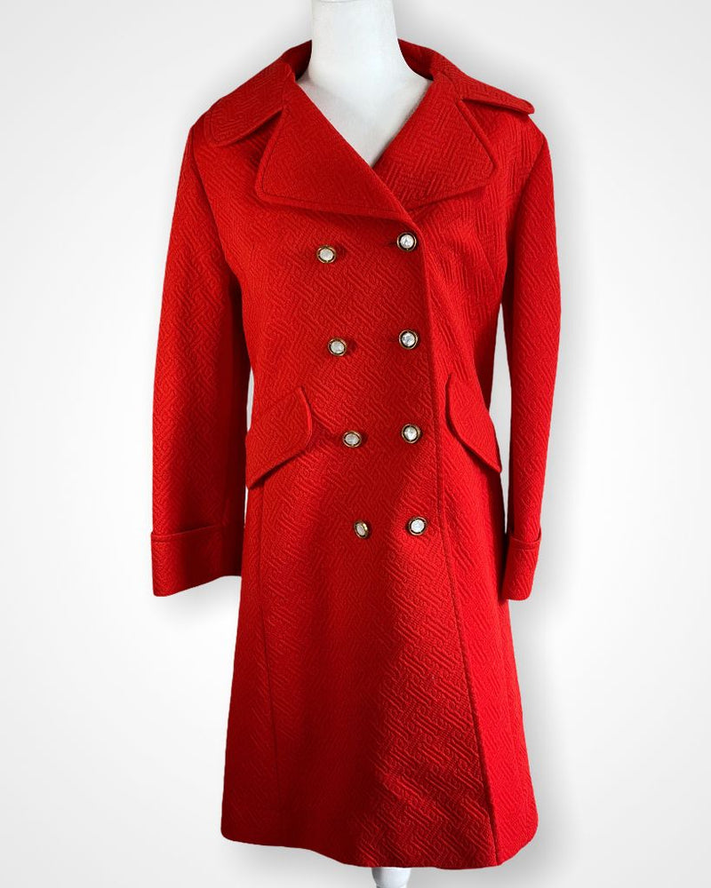 Vintage red Sears Fashions Jacket, 12