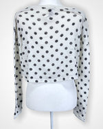 White Forever21 Long Sleeve, S