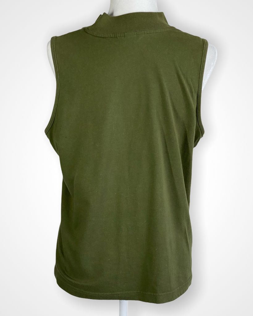 Green Christopher & Banks Tank, L