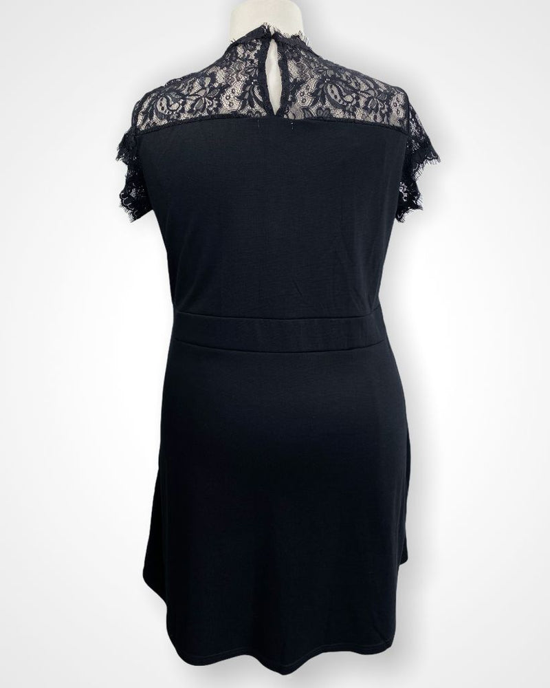 Black Maurices Dress, 1x