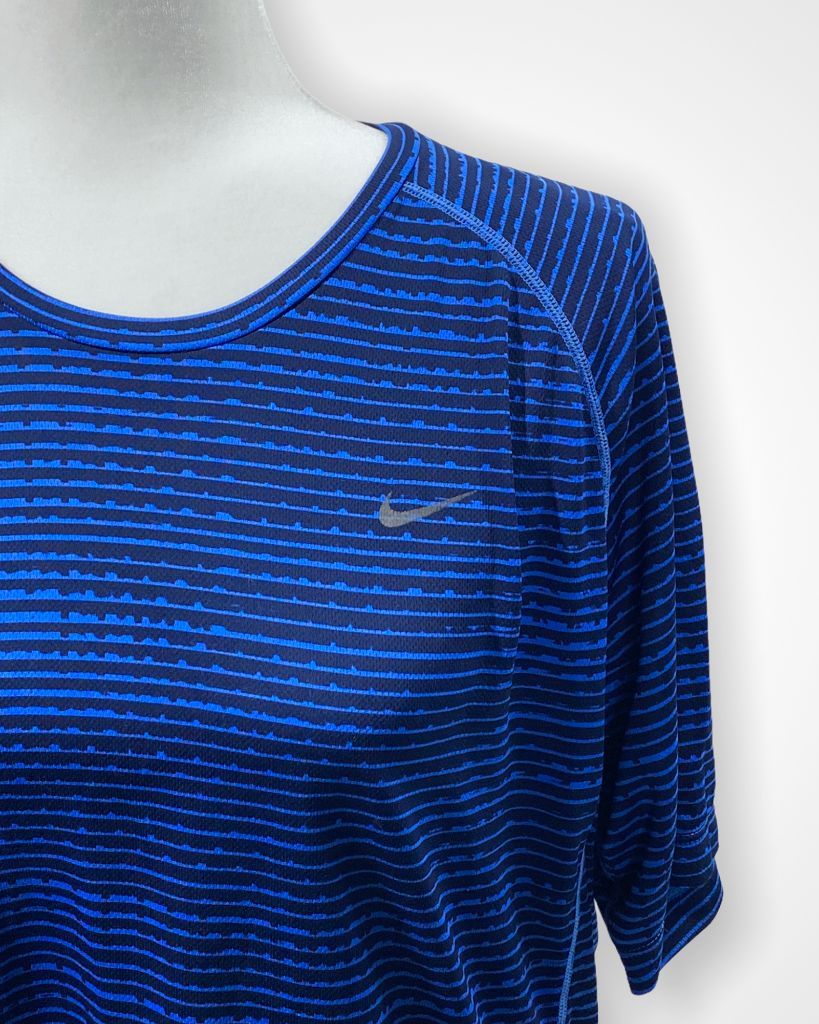blue Nike Athletic Short sleeve, L