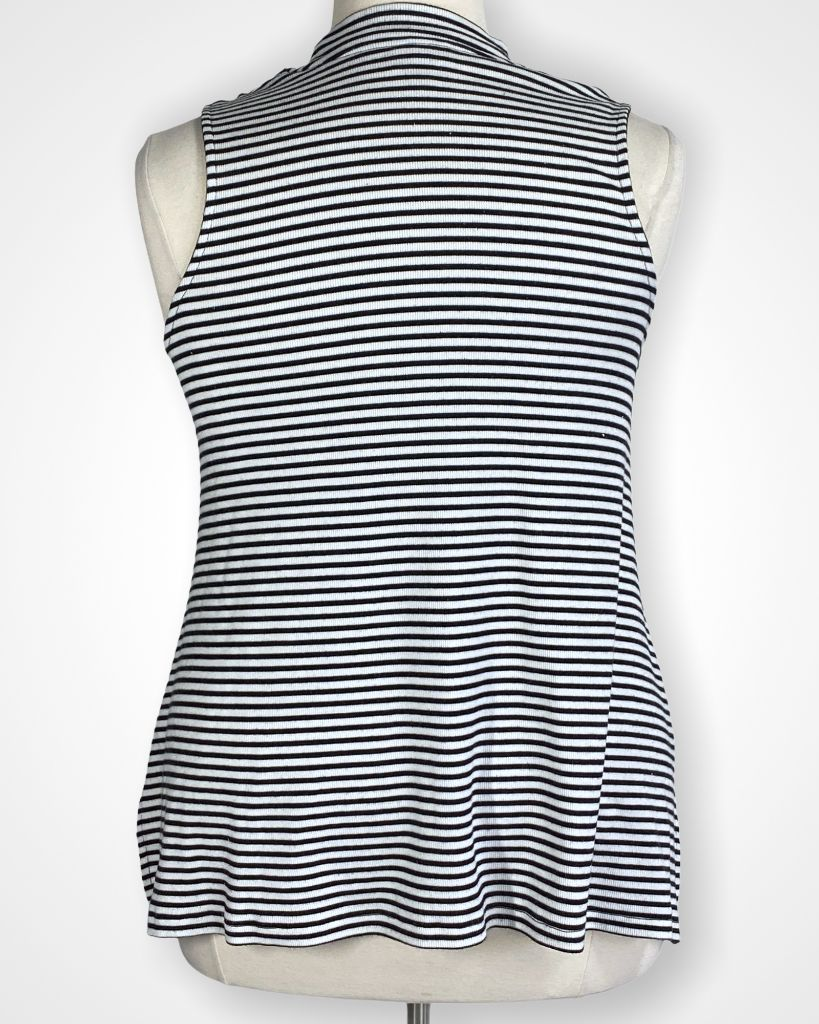 Black & White Striped Mossimo Tank, XL