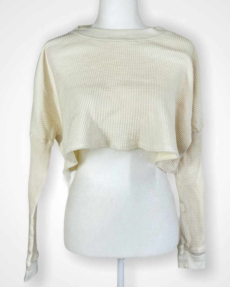 white Out From Under by UO Long Sleeve, m