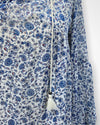 Blue/Floral canyon river blues Long Sleeve, XL
