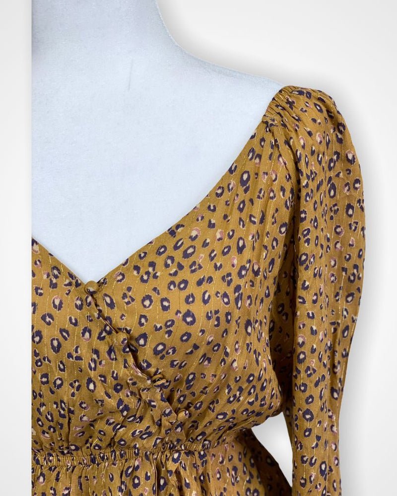 Yellow Le Lis Long Sleeve, M