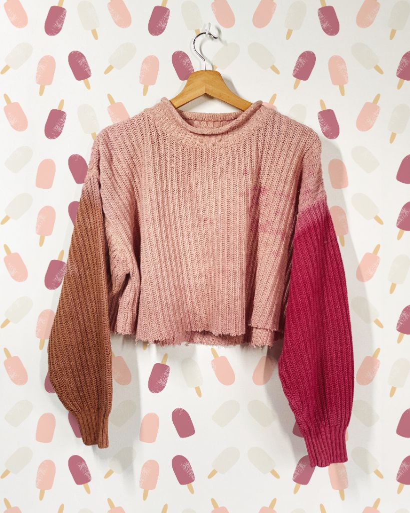 Neapolitan Upcycled Sweater
