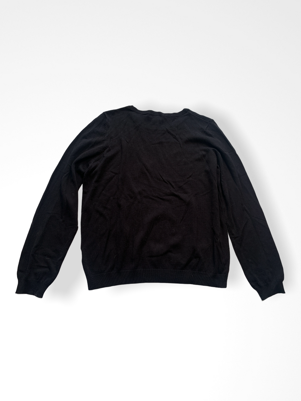Black H & M Sweater, L