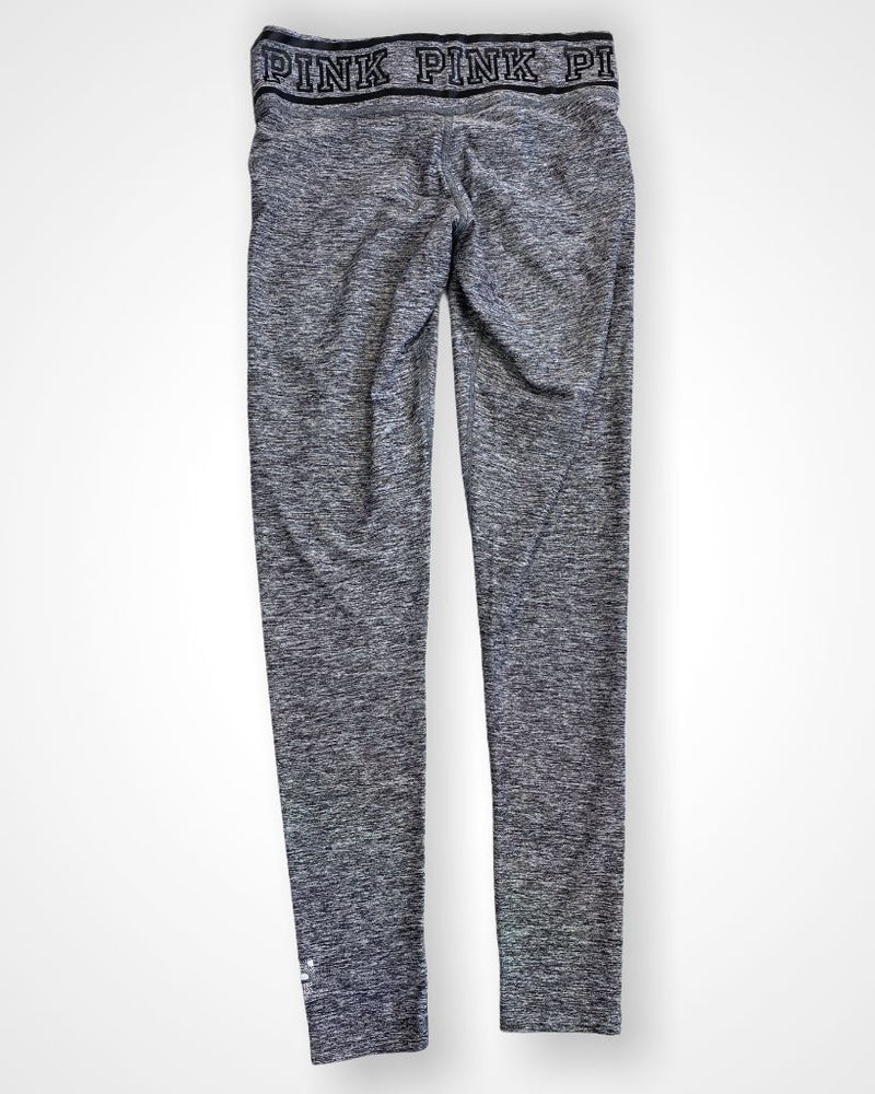 Gray Pink by VS Athletic Leggings, S