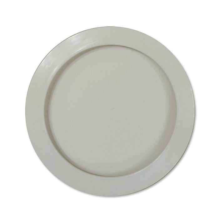 Plate with inside edge