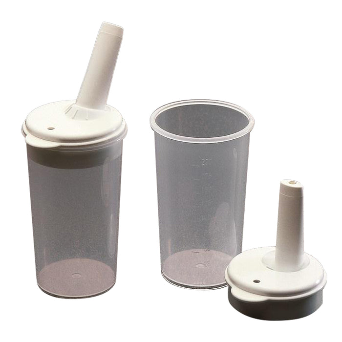 Feeding Cup 8mm spout 2 pack