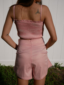 Pink Two Piece Set with Pockets