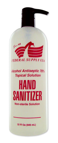 Hand Sanitizer 32oz - Federal Supply