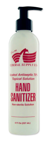 Hand Sanitizer 8oz - Federal Supply