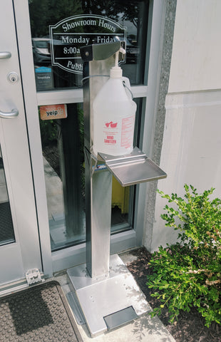 Hand Sanitizing Station - Federal Supply