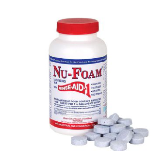 Nu-Foam Sanitizer Tablets - Federal Supply