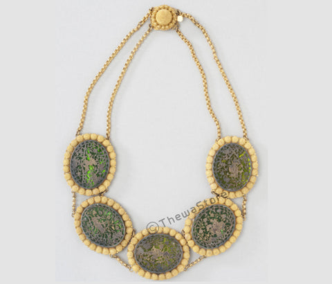 Thewa Art Old Necklace