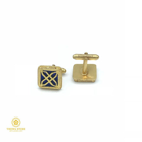 Thewa Jewellery Classy Axe Cufflinks for Men Cufflinks Thewa Store1