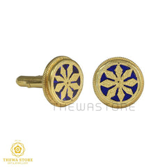 Thewa Jewellery Desinger Sun Rays Cufflinks for Men Cufflinks Thewa Store1