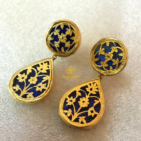 Thewa Jewellery Designer Earrings Big Earrings Thewa Store1