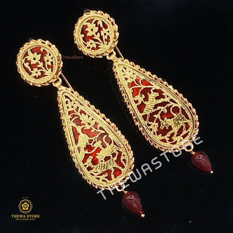 Thewa Jewellery 18th Centuries Earrnings - ThewaStore