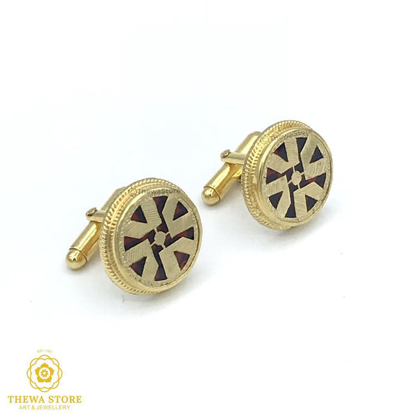 Thewa Jewellery Designer Cufflinks for men - ThewaStore