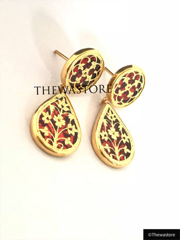 Thewa Jewellery Designer Earrings Big - ThewaStore