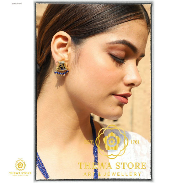 Thewa Jewellery Pharsa Designer Earrnings - ThewaStore