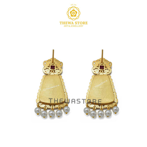 Sparsh Bell Shape Earrings