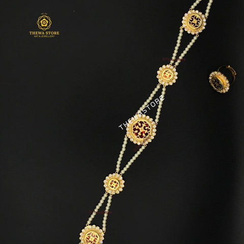 Thewa Jewellery Rajasthani Sheesh patti Sheesh Patti Thewa Store1