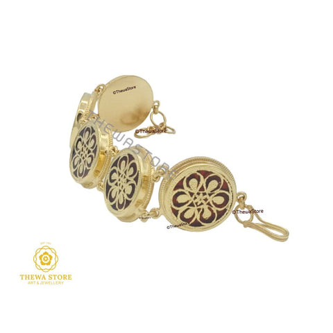 Thewa Art Jewellery 5 pieces Round Bracelet - ThewaStore