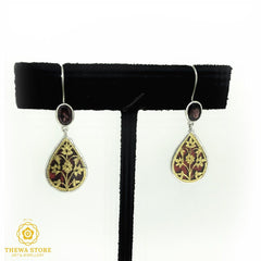 Thewa Jewellery Drop Shape Earrning Earrings Thewa Store1