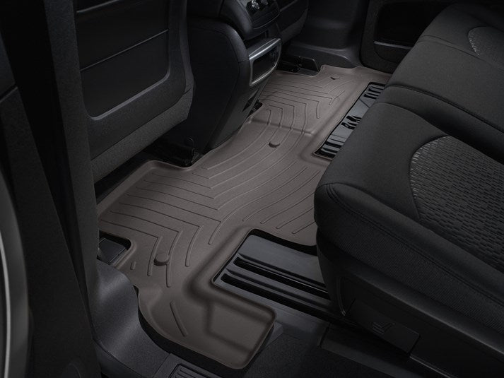 WeatherTech Digital Fit Floor Liners 472511-471112 Cocoa Front and Rear 07 08 09 10 11 12 13 14 15 16 GMC Acadia w/ 2nd Row BENCH SEATS
