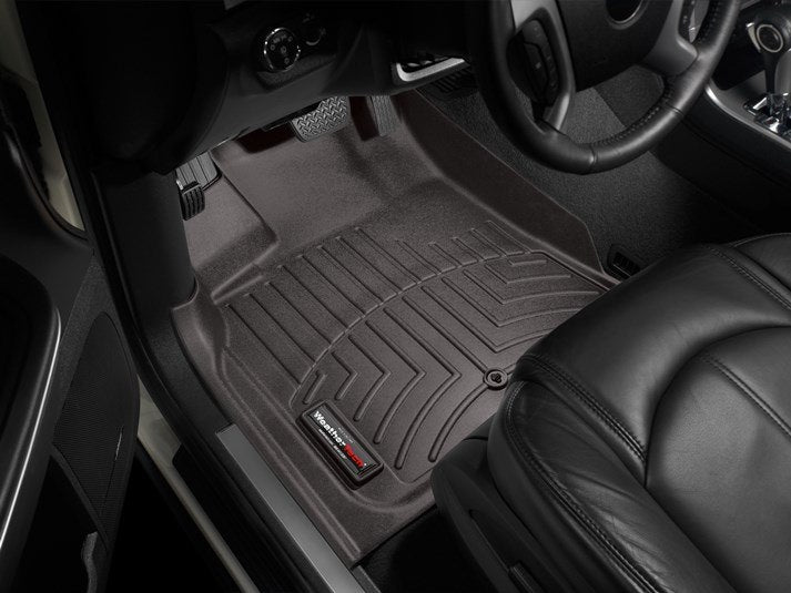 WeatherTech Digital Fit Floor Liners 472511 Cocoa Front 08 09 10 11 12 13 14 15 16 Buick Enclave