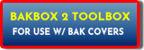 BAKBOX2 TOOLBOX FOR USE WITH BAK TRUCK BED TONNEAU COVERS
