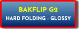 BAKFLIP G2 HARD FOLDING GLOSSY LOW PROFILE TRUCK BED COVERS